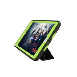 Shockproof Heavy Duty Armor Case for  Apple iPad Air 2 (Green)
