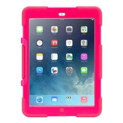 Shockproof Military Duty Case For Apple iPad Mini 4 (Pink)