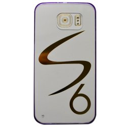Silicone Case for Samsung 6 (Violet)