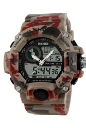 SKMEI 1029 Digital Watches (Red Camouflage)