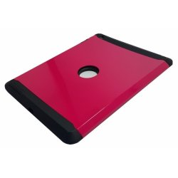Sleek Shockproof Case for Apple iPad 4 (Red)