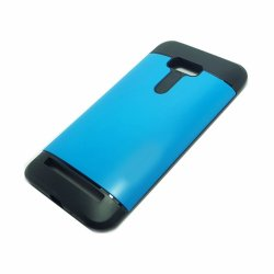 "Sleek Shockproof Case for Asus Zenfone Laser 5.5"" ZE550KL (Blue)"