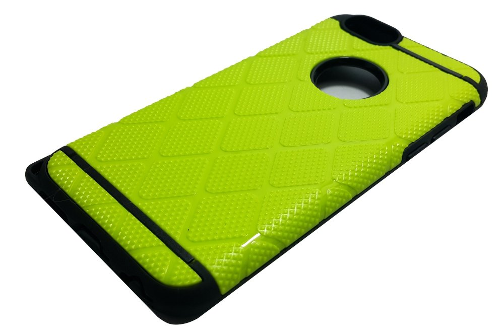 Slim Sleek Shockproof Case for iPhone 6 Plus / 6s Plus (Lime Green) - thumbnail