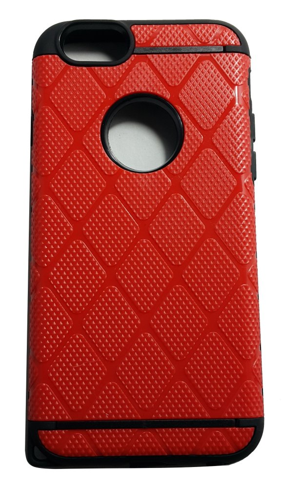 Slim Sleek Shockproof Case for iPhone 6 Plus / 6s Plus (Red) product preview, discount at cheapest price