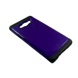 Slim Two Tone Protective Case for Samsung Galaxy A7 (Purple)
