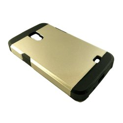 Slim Two Tone Protective Case for Samsung Galaxy Core G3518 (Gold)