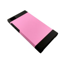 Slim Two Tone Protective Case for Xiaomi M3(Pink)