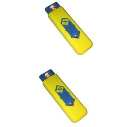 Smart Electronic Lighter Set of 2 (Yellow)