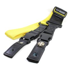 Soldier NST-1250 Quick-Release Nylon Guitar Strap (Yellow)