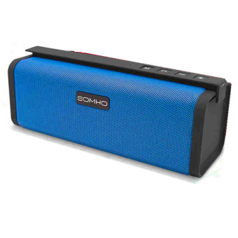 SOMHO S311 Portable Bluetooth Speaker (Blue) - picture 2