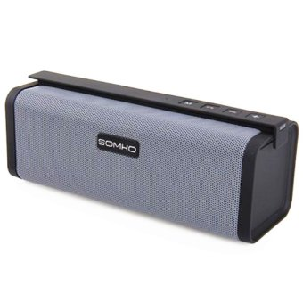 SOMHO S311 Portable Bluetooth Speaker (Gray) - picture 2