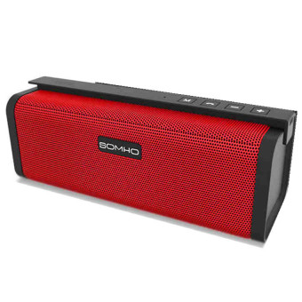 SOMHO S311 Portable Bluetooth Speaker (Red)