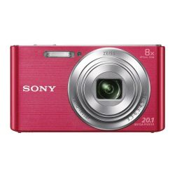 Sony 20.1MP 8x Optical Zoom DSCW830P Digital Camera (Pink)
