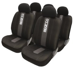 Sparco SPC1012 Seat Cover (Gray/Black)