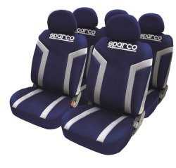 Sparco SPC1010 Seat Cover (Blue/Gray)