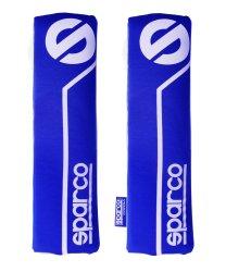 Sparco SPC1200 Shoulder Pad, Set of 2 (Blue)