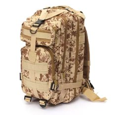 b76d88f3ad7f Sport Outdoor Military Rucksacks Tactical Molle Backpack Camping Hiking  Trekking Bag (Digital Desert)
