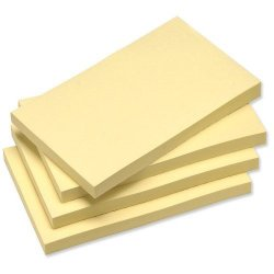 Sticky Notes Pad Plain (Horizontal) Plain 6 pads/pack