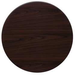 Sumotop STDW60R Dark Walnut Commercial Table Top (Brown)