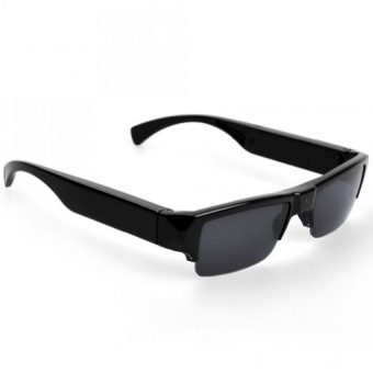 Sunglass With HD Video Camera (Black)