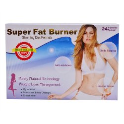 Super Fat Burner Slimming Diet Capsules, Pack of 24