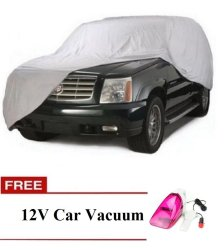 Suv cover with free 12v car vacuum (color may vary)