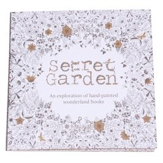 Sworld Coloring Book Secret Garden 40 Pages English Intl