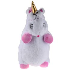 Sworld Despicable Me Fluffy Unicorn Plush Toy Doll White Intl