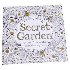 Sworld Secret Garden An Inky Treasure Hunt And Coloring Book 24 Pages Chinese Intl