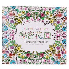 Sworld Secret Garden An Inky Treasure Hunt And Coloring Book 48 Pages Chinese