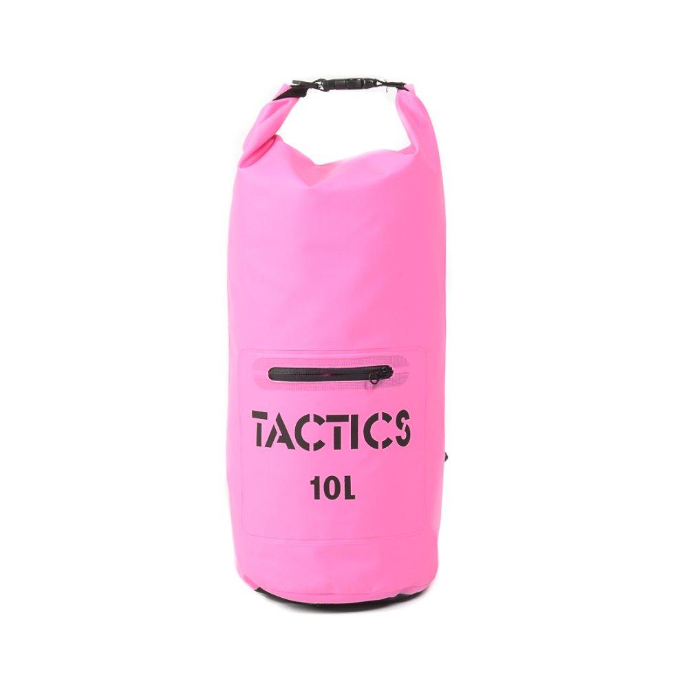 Tactics Waterproof  Zip Dry Bag 10L (Pink)
