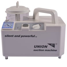 Taiwan Union Silent and Powerful Portable Suction Machine w/ complete accessories (White) Philippines