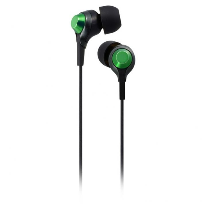TDK TH-EC200BGR CLEF-R In-ear Headphones (Black/ Green) product preview, discount at cheapest price