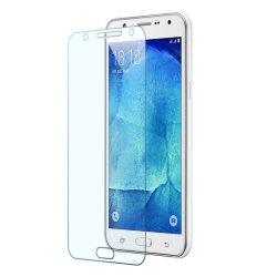 Tempered Glass Screen Protection for Samsung Galaxy J7 (Clear)
