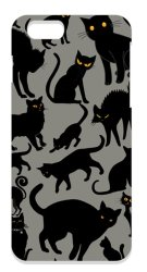 The Diff Black Cats PC Case for Apple iPhone 6/6s (Black)