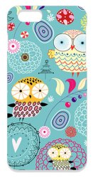 The Diff Dream about Owls PC Case for Apple iPhone 6/6s (Turquoise)