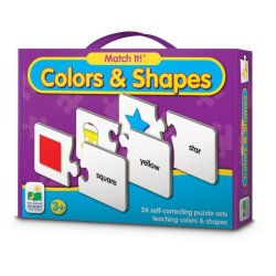 THE LEARNING JOURNEY Match It Colors & Shapes