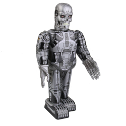 The Terminator Robot Wind Up Tin Toy