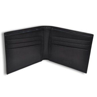 Tieline Billfold Leather Wallet (Black)