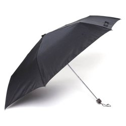 Tokio Slim Type Windproof Umbrella (Black)