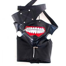 Tokyo Ghoul Kaneki Ken Cosplay Mask Halloween Prop Zipper Mask - Intl By Miss Lan.