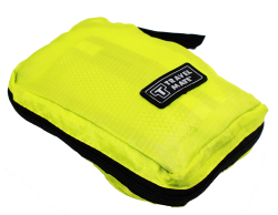 Travel Mate Hanging Toiletry Kit Bag Organizer (Yellow Green)