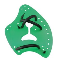 Tyr Catalyst 2 Swimming Paddles Green By Sportsource.