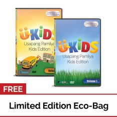 U-Kids Usapang Pamilya Kids Edition: Vol. 1 And Vol. 2 With Free Eco Bag By Apmedia Philippines.