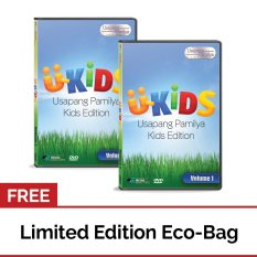 U-Kids Usapang Pamilya Kids Edition Volume 1 Dvd Set Of 2 With Free Eco Bag By Apmedia Philippines.
