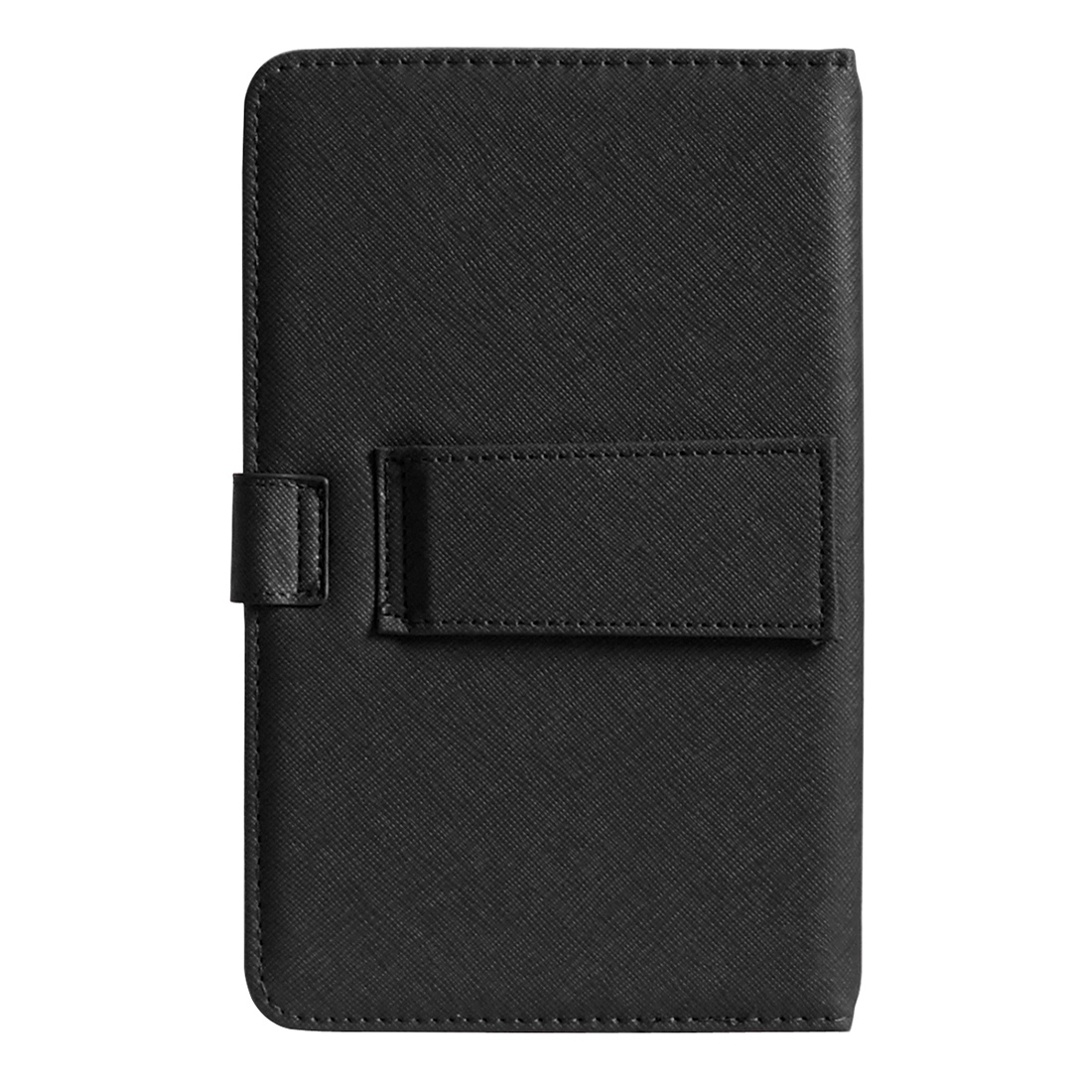 Universal Android Mobile Phone Leather Case with Keyboard (Black) - Intl - thumbnail