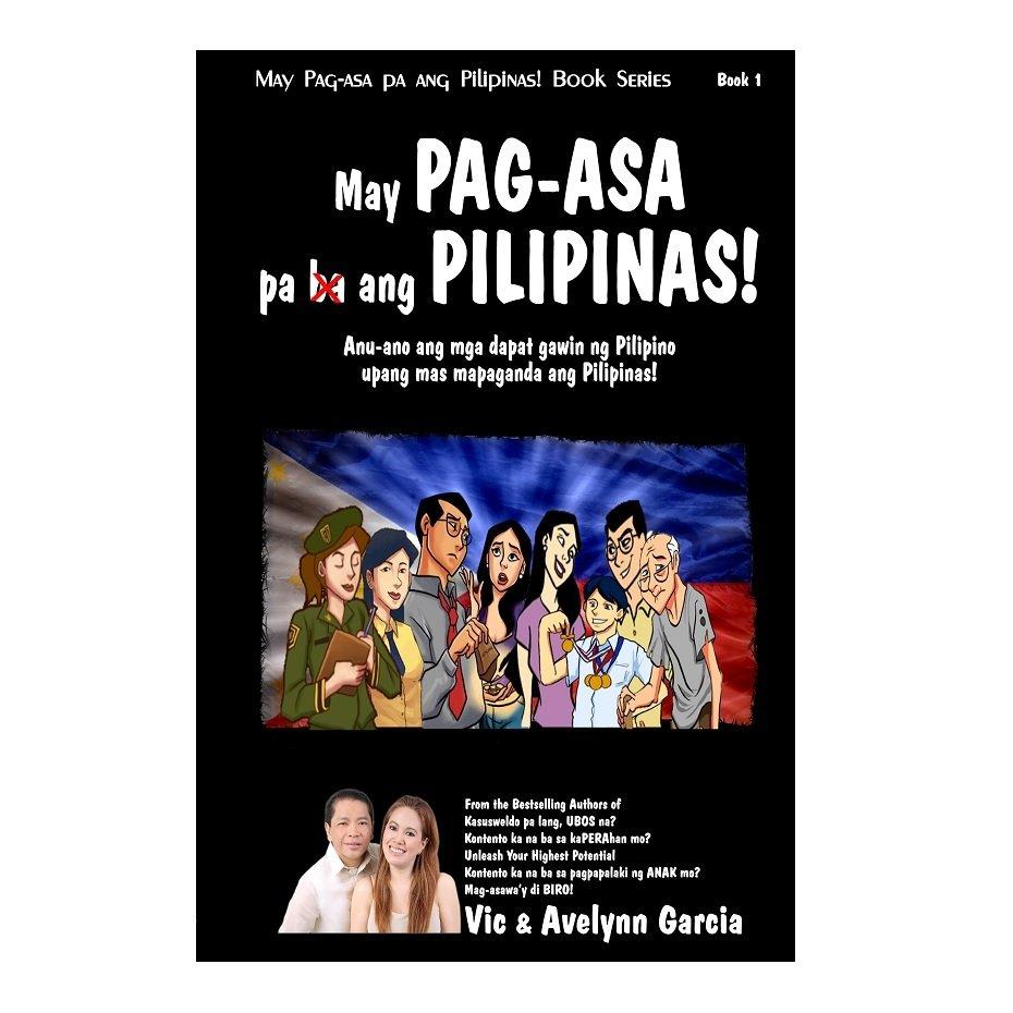 May PAG-ASA Pa Ang Pilipinas Book (Black) by Vic and Avelynn Garcia - thumbnail