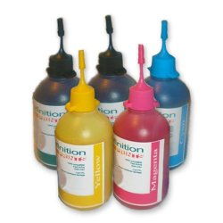 UV Dye Ink for Brother Printer Set of 5