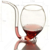 Vampire Red Wine Glass Sucking Cup Mug With Drinking Tube Straw - thumbnail 2