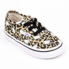 f2bd91b5a Vans Authentic For Toddlers Sneakers (Hello Kitty/Leopard/True White)
